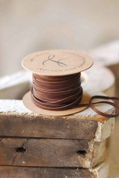 5yd Spool of Leather