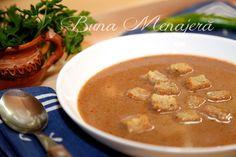 supa crema de peste Thai Red Curry, Ethnic Recipes, Food, Cream, Essen, Meals, Yemek, Eten