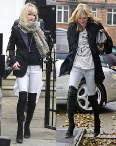 15 Ways to Wear Thigh-High Boots This Winter | High boots and Thighs