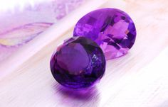 Purple has long been considered a royal color so it is not surprising that Amethyst has been so much in demand during history. (links to a page of gemstones).