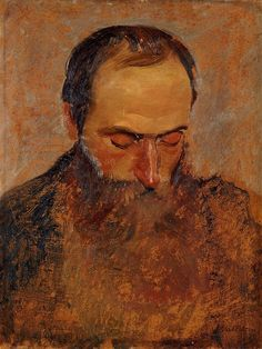 Portrait of Edouard Vuillard by Felix Vallotton