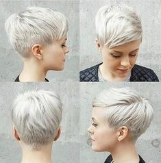 Today we have the most stylish 86 Cute Short Pixie Haircuts. We claim that you have never seen such elegant and eye-catching short hairstyles before. Pixie haircut, of course, offers a lot of options for the hair of the ladies'… Continue Reading → Thin Hair Haircuts, Short Pixie Haircuts, Pixie Hairstyles, Short Hair Cuts, Cool Hairstyles, Short Hair Styles, Pixie Cuts, Haircut Short, Poxie Haircut