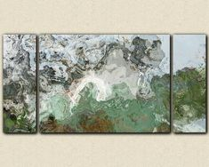 """River Wind"" Large triptych giclee stretched canvas print by FinnellFineArt, $375.00"