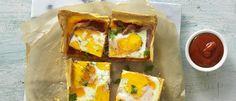 Easy Bacon and Egg Slice recipe from Food in a Minute