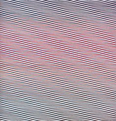 Bridget Riley - Cataract 3 (1967)