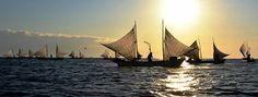 CHINA OUT SOUTH KOREA OUT Sail boats called 'UtaseBune' depart as Hokkai shrimp autumn fishing season begins on October 2015 in Betsukai Hokkaido...
