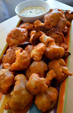 BuffaloCauliflowerWings | by katesrecipebox