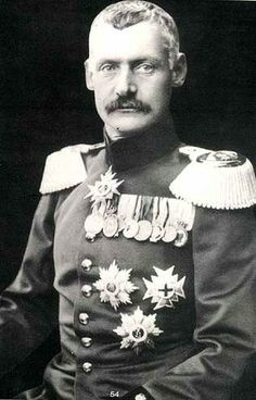 Rupprecht or Rupert, Crown Prince of Bavaria (German: Kronprinz Rupprecht von Bayern) (18 May 1869 – 2 August 1955) was the last Bavarian Crown Prince. His full title was His Royal Highness Rupprecht Maria Luitpold Ferdinand, Crown Prince of Bavaria, Duke of Bavaria, of Franconia and in Swabia, Count Palatine of the Rhine