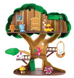 Amazon.com: Vivid Imaginations Moshi Monsters Moshling Treehouse: Toys & Games