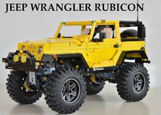 See how Lego RC jeep can do