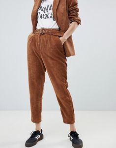 083b8587d3b Bershka | Bershka two-piece cord pants Cords Pants, Parachute Pants, Two  Pieces