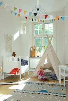 Sweet baby's room.