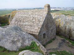Meneham. Pays pagan , Finistère. Bretagne
