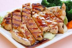 HONEYED CHINESE CHICKEN BREASTS {dr oz show}