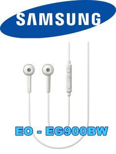 Auriculares SAMSUNG EO-EG900BW ORIGINAL para Galaxy S5-S6-S6-Edge-S7, Android.