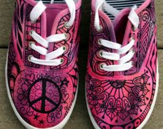 Zentangle sneakers shoes sneakers custom by ArtworksEclectic