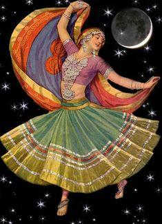 Moon shining on the Gypsy