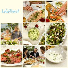 Koldtbord Cobb Salad, Tapas, Buffet, Food And Drink, Norway, Kitchen, Parties, Holidays, Fiestas