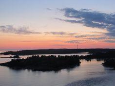 Baltic Sea / Gulf of Bothnia, between Helsinki and the Aland Islands