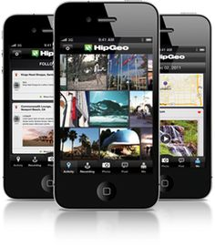 03/07/2012: Travel App of the Day, HipGeo! Record your travels!