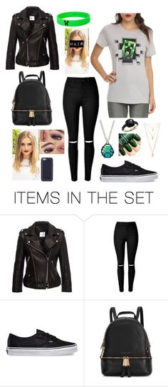 """Minecon Outfit (Did He Hurt You?? Miniminter FF) Happy Valentines"" by kellymartinezp ❤ liked on Polyvore featuring art"