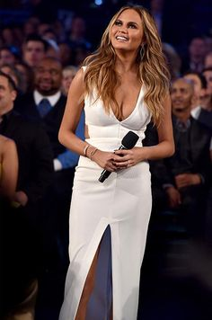 See Every Outfit Chrissy Teigen Wore to Host the 2015 Billboard Music Awards | InStyle.com