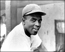 """Jackie Robinson. """"Life is not a spectator sport. . . . If you're going to spend your whole life in the grandstand just watching what goes on, in my opinion you're escaping your life."""""""