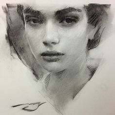 Quick sketch in charcoal. #art #charcoal available for $200