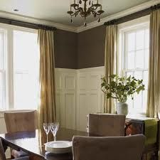 High wainscoting for dining room