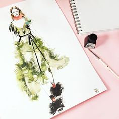 Fashion Illustrations (@kseniyarotter) | Instagram photos and videos
