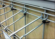 Zip Tie Hook Security – Fixtures Close Up Cable Tie, Track Lighting, Hooks, Ceiling Lights, Zip, Retail, Humor, Humour, Funny Photos