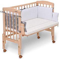 Baby Crib Diy, Baby Cribs, Side Bed Crib, Ikea Baby Room, Diy Zimmer, Baby Rocker, Baby Room Design, Baby Furniture, Baby Decor