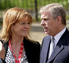 Last month the Duchess of York spoke out on her ex-husband's ties to the disgraced billionaire Jeffrey Epstein for the first time, insisting she will support Prince Andrew amid the engulfing scandal (Andrew and Sarah Ferguson pictured in Princesa Beatrice, Princesa Eugenie, Sarah Duchess Of York, Duke And Duchess, Gwyneth Paltrow, Sarah Ferguson Prince Andrew, Prince Andrew Wife, Denise Welch, Prince Andrew