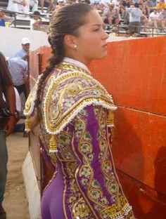Rocío Morelli, novillera