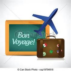 how to say bon voyage in czech