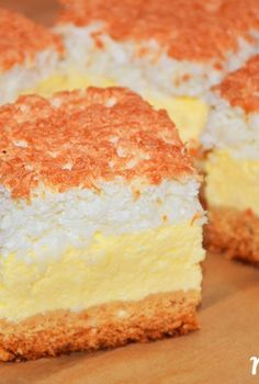 Polish Desserts, Polish Recipes, Carrot Cake Cheesecake, Sandwich Cake, Rice Cakes, Pastry Cake, Cheesecakes, Yummy Cakes, Vanilla Cake