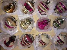 Vintage-Shiny-Brite-Poland-Mercury-Christmas-Ornaments-Mica-UFO-Bell-Mix
