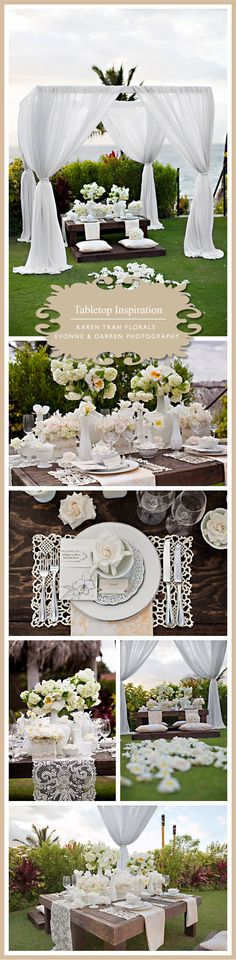 Tons and tons of wedding inspiration, color schemes, and themes!