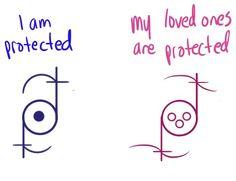 Bilderesultat for protection sigils wicca
