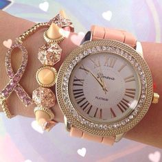 Watch and braclet perfect for every outfit!