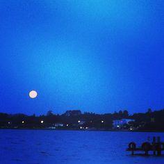 Moon rising - Lagoa da Conceição