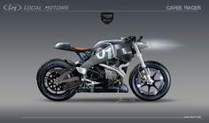 Altarf --- Buell xb12ss Cafe Racer | Local Motors