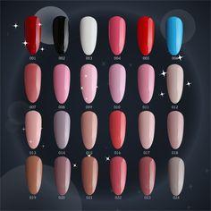 #001024 m.ladea 6.5ML 168 colors Nail gel Polish UV Led Long Lasting Nail Gel Polish DIY Nail Art Gel   Price: 1.12 USD