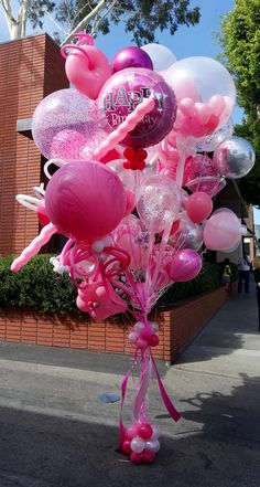 World's Best Bouquets — World's Best Balloons Birthday Surprise For Husband, Birthday Morning Surprise, 16th Birthday Decorations, Balloon Decorations Party, Happy Birthday Drinks, Birthday Parties, Birthday Wishes, Baby Shower Bouquet, Balloon Arrangements