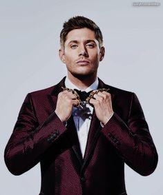 Ladies and Gentlemen, Jensen Ackles. You're welcome.