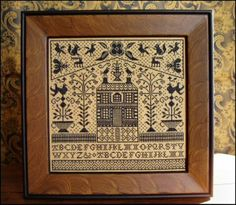 Matter's Choice Cross Stitch Pattern by by LettersGreatandSmall, $9.00