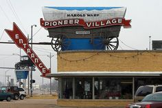 Pioneer Village in Minden, Nebraska You can spend all day looking at all of the stuff they have! It is way cool!