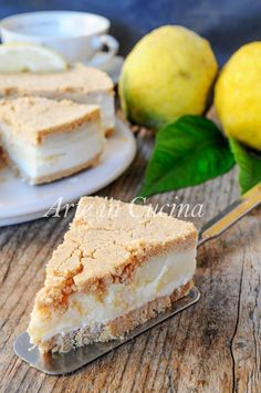 Rhubarb Recipes, Lemon Recipes, Sweet Recipes, Cake Recipes, Dessert Recipes, Italian Cookie Recipes, Bolo Cake, Rhubarb Cake, Biscuit Cake