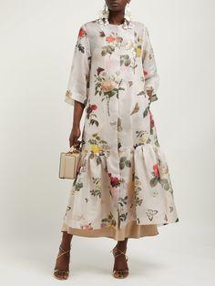 Organza Dress, Silk Organza, Chiffon Dress, Modest Fashion, Hijab Fashion, Fashion Dresses, Elegant Outfit, Cotton Dresses, Pretty Dresses