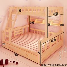 "Receive terrific recommendations on ""bunk beds for kids diy"". - Receive terrific recommendations on ""bunk beds for kids diy"". Bunk Bed Rooms, Kids Bunk Beds, Bedroom Bed, Kids Bedroom, Bedroom Decor, Double Bunk Beds, Modern Bunk Beds, Pallet Furniture, Furniture Design"